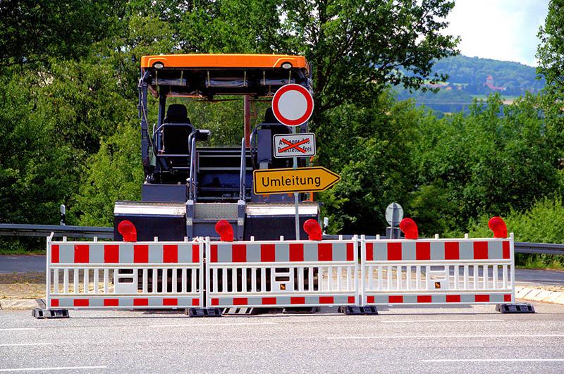 Straßensperrung K 523